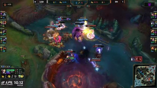 SofM tỏa sáng với Lee Sin full tank, Angel lật kèo kinh điển giúp Suning hạ gục LGD, tiếp cận top 4 - Ảnh 3.