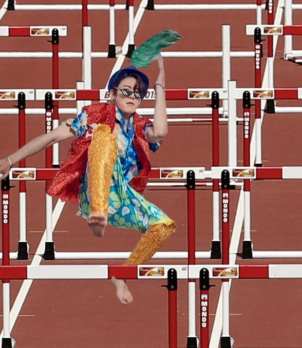 Fan đưa Jungkook đi du lịch khắp thế giới với tạo dáng khó đỡ, cả Việt Nam cũng ghé qua! - Ảnh 10.