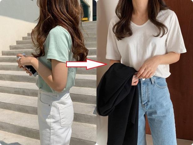 Các nàng hãy chọn áo phông theo 4 tips này, đảm bảo luôn đẹp và quan trọng là nhìn người gầy đi vài ký  - Ảnh 6.