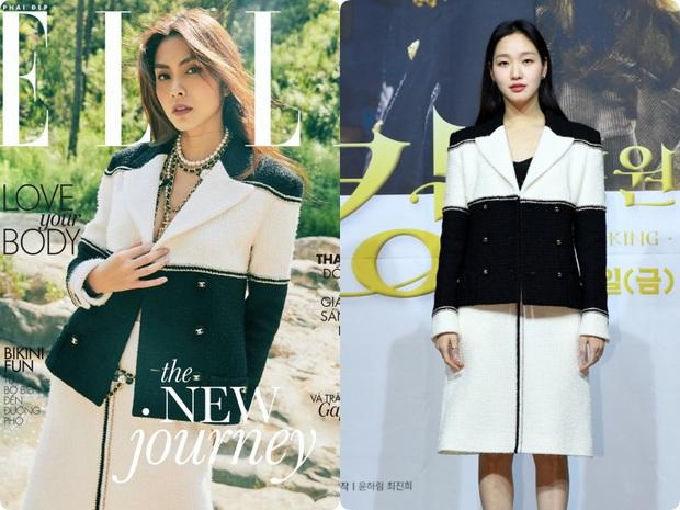 Ôm trọn bộ Chanel lên tạp chí, Hà Tăng lấp ló vòng 1 áp đảo tân nương yêu tinh đơn điệu từ trang phục đến thần thái - Ảnh 6.