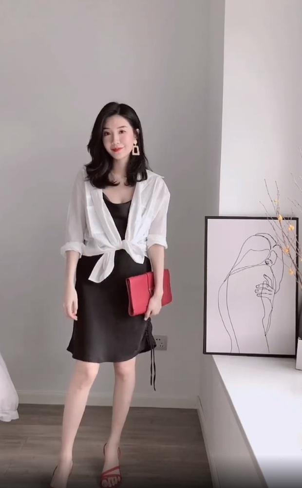 Chỉ 1 chiếc váy đen mà mặc được từ đi làm tới đi chơi, nàng công sở ra tay chứng minh với 11 set đồ bắt mắt - Ảnh 6.
