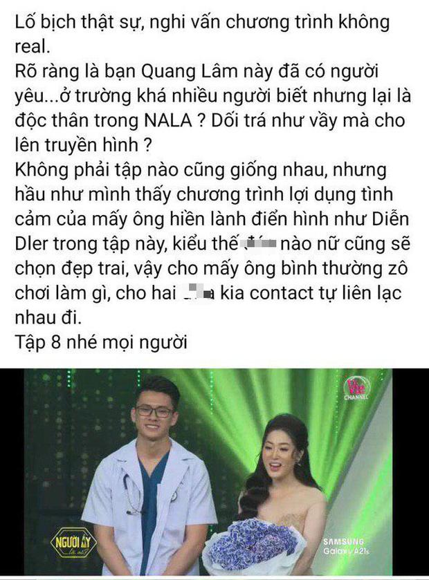 Quang Lâm chính thức lên tiếng khi bị đồn nói dối, có bạn gái vẫn tham gia Người ấy là ai - Ảnh 3.
