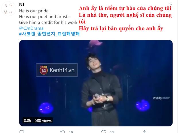 Điên Thì Có Sao dính phốt xài chùa câu nói nổi tiếng của Jonghyun (SHINee), fan bức xúc dùm cố nghệ sĩ - Ảnh 9.
