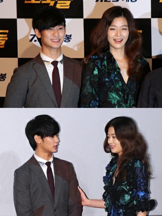 """Kim Soo Hyun 1m80 vẫn bị loạt bạn diễn nữ """"sỉ nhục"""" chiều cao tàn nhẫn: Biểu cảm nói lên tất cả, Seo Ye Ji xách dép Jeon Ji Hyun - Ảnh 7."""