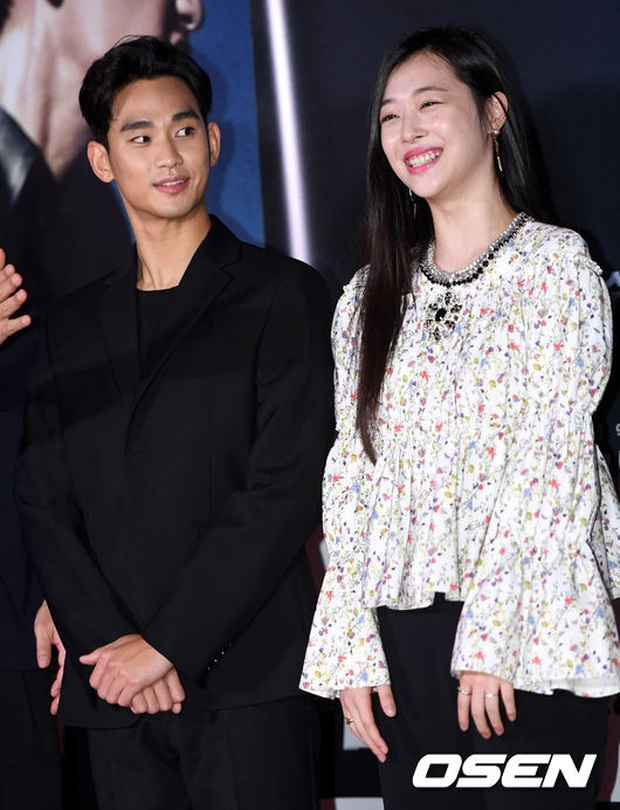 """Kim Soo Hyun 1m80 vẫn bị loạt bạn diễn nữ """"sỉ nhục"""" chiều cao tàn nhẫn: Biểu cảm nói lên tất cả, Seo Ye Ji xách dép Jeon Ji Hyun - Ảnh 15."""