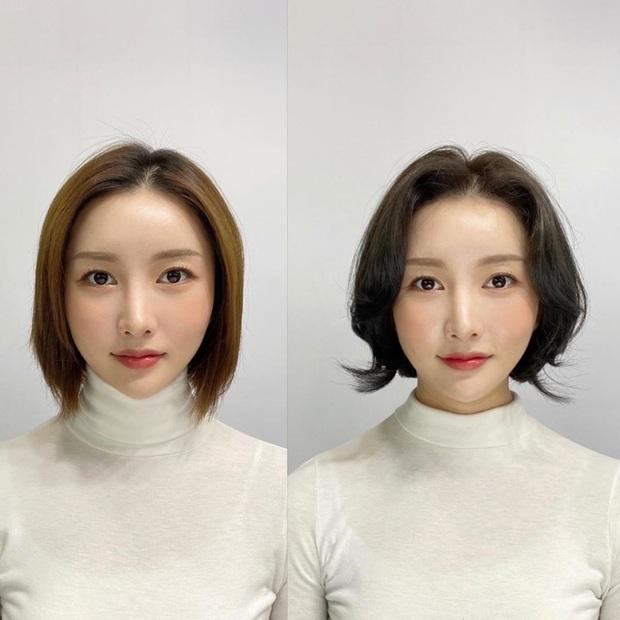 """10 pha """"biến hình"""" chứng minh tóc mái vi diệu thật, chị em trán hói mấy cũng lột xác xinh sang hết sức - Ảnh 9."""