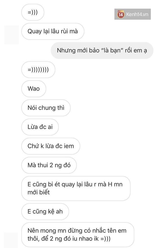 Một bồ cũ của Khói phản ứng trước tin rapper quay lại với Mây sau 2 năm chia tay: Lừa được ai chứ không lừa được tôi! - Ảnh 3.