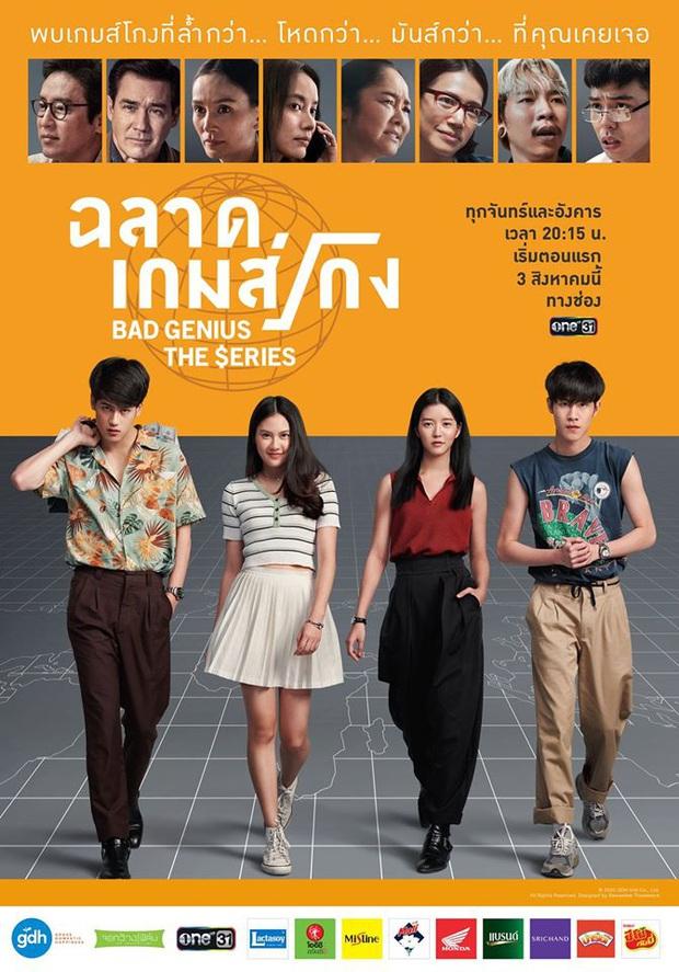Thiên Tài Bất Hảo bản truyền hình tung tạo hình nhân vật: Netizen Thái phấn khích tột độ, khán giả Việt kêu gào đòi cast cũ - Ảnh 1.