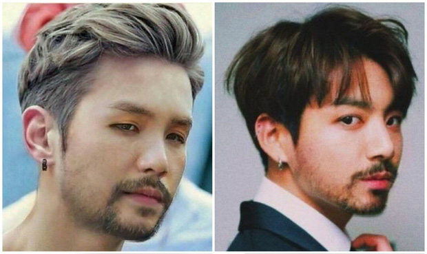 Quen ngắm idol Hàn nhẵn mịn bấy lâu, giờ phải thấy thần tượng nuôi râu mà netizen sốc tận óc - Ảnh 1.
