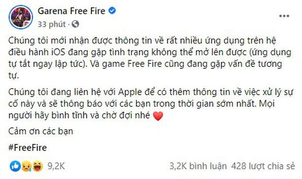 Liên quân, Free Fire cùng hàng loạt game mobile trên iOS bị lỗi, giải đấu quốc tế APL bị gián đoạn - Ảnh 3.