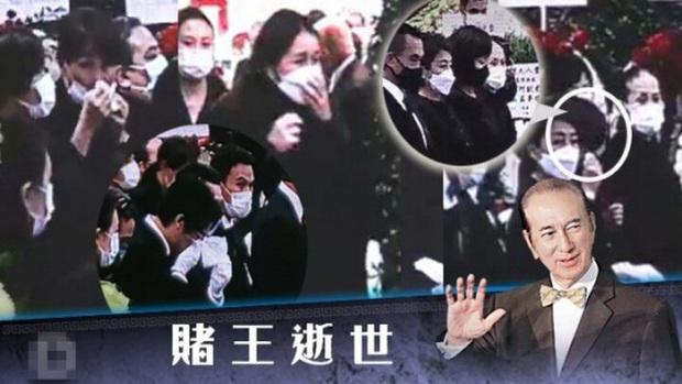Diễn biến tang lễ trùm sòng bạc Macau: Vợ con khóc nức nở, bà Hai ngã bệnh nặng, ảnh hiếm của đại gia tộc được trình chiếu - Ảnh 13.