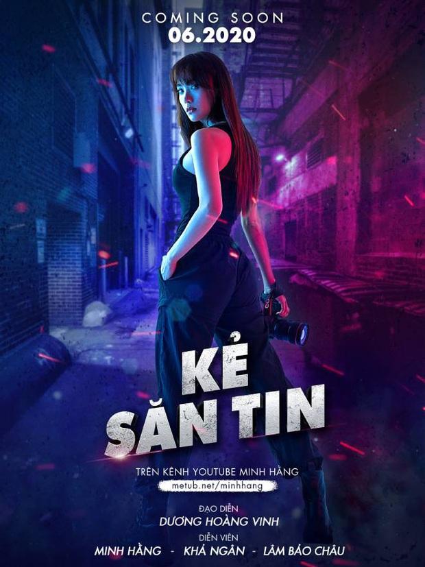Tập 3 web drama của Minh Hằng vừa lên sóng đã bị gỡ vì cảnh phim gắn mác khủng bố - Ảnh 2.