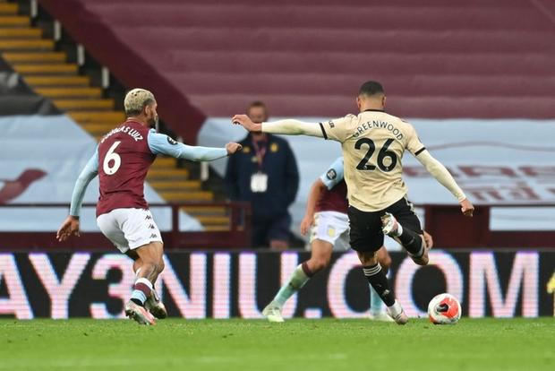 Manchester United 3-0 Aston Villa: Pogba nổ súng, sao trẻ Greenwood thăng hoa, Quỷ đỏ nâng chuỗi bất bại lên con số 17 - Ảnh 4.