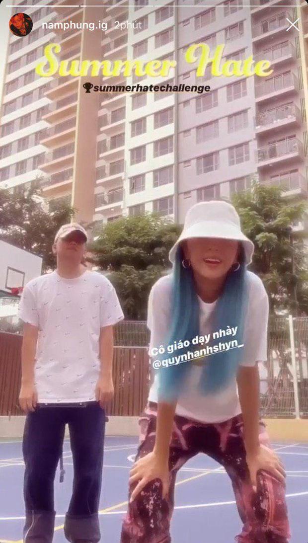 Quỳnh Anh Shyn lần đầu đăng clip nhảy với bạn trai tin đồn Nam Phùng, gọi người ta là oppa nữa cơ! - Ảnh 3.