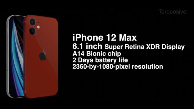 Concept iPhone 12, iPhone 12 Max lại lên sóng rõ nét, đủ cả cấu hình lẫn tính năng - Ảnh 6.