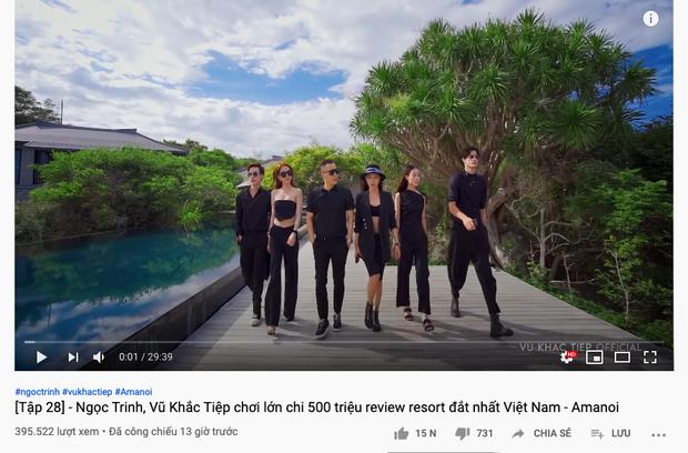 Lần đầu quay vlog tại Việt Nam, Ngọc Trinh và Vũ Khắc Tiệp chi hẳn nửa tỷ đồng review resort 6 sao đắt giá nhất nước ta hiện nay - Ảnh 1.
