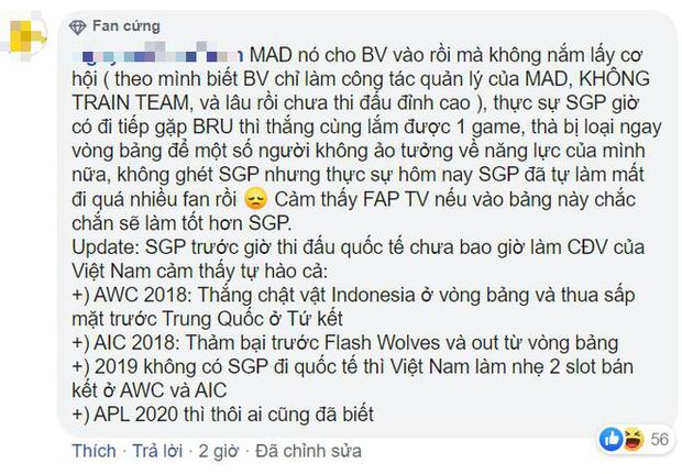 APL 2020: Saigon Phantom thua bạc nhược MAD Team, fan bình luận công kích thậm tệ - Ảnh 8.