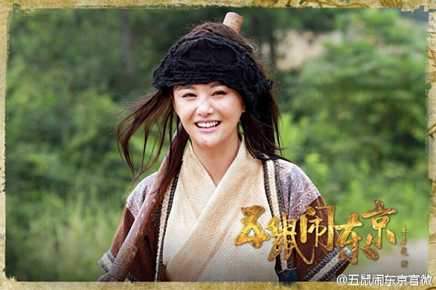 Khi sao Cbiz thử sức với tạo hình cái bang: Angela Baby vẫn siêu xinh, Lưu Hạo Nhiên - Trần Phi Vũ thì ba má nhận không ra - Ảnh 12.