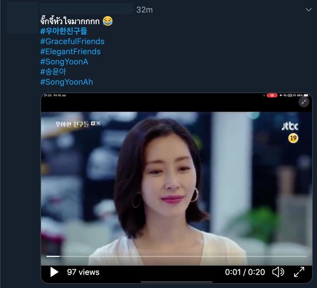 Netizen Hàn chê tơi tả, fan Thái lại khoái chí xui chị đẹp Yoon Ah ngoại tình ngay khi xem tập 1 Hội Bạn Cực Phẩm - Ảnh 6.