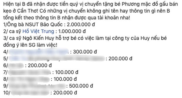 Gia Bảo giúp đỡ cô gái bán hàng rong bị ép ăn 10 cái kẹo, Ngô Kiến Huy - Hồ Việt Trung chung tay ủng hộ! - Ảnh 5.