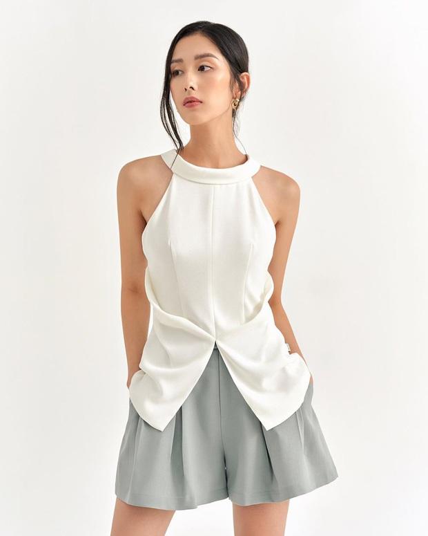 Hè đến là áo yếm lại hot quá trời quá đất và đây là những mẫu xinh xẻo nhất tại các shop mà chẳng nàng nào có thể làm ngơ - Ảnh 15.