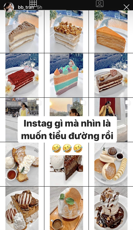 Đăng ảnh đồ ăn kín Instagram, BB Trần khiến Hari Won phải thốt lên: Đừng up nữa, chị thèm lắm rồi! - Ảnh 1.