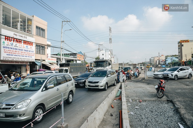 Cận cảnh hầm chui hơn 500 tỷ đồng tại điểm đen giao thông ở Sài Gòn trước ngày thông xe - Ảnh 15.