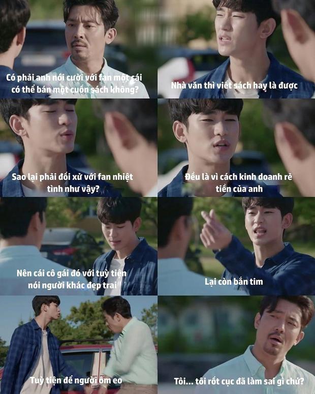Kim Soo Hyun ghen nổ đom đóm mắt ở Điên Thì Có Sao nhưng lý do lại giống với đại úy Hyun Bin thế nhỉ! - Ảnh 8.