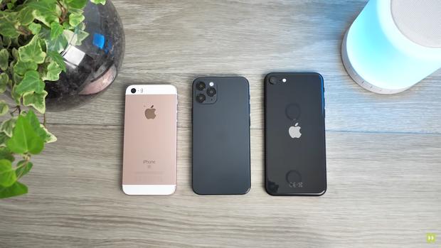 Cận cảnh mô hình iPhone 12, nhỏ gọn hơn cả iPhone 7 và iPhone SE 2020 - Ảnh 5.