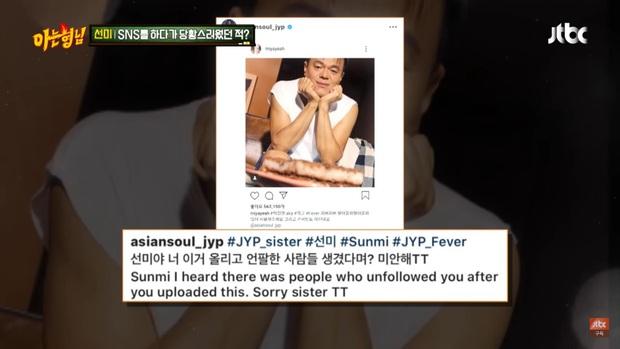 Chỉ vì đăng hình ủng hộ JYP, Sunmi liền bị 500 người bỏ theo dõi trên mạng xã hội - Ảnh 3.