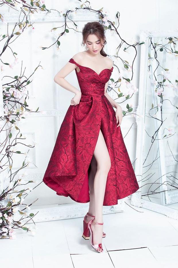 Đến Ngọc Trinh mà không áp dụng thủ thuật tạo dáng thì điểm sexy cũng vơi đi phân nửa khi diện váy xẻ  - Ảnh 4.