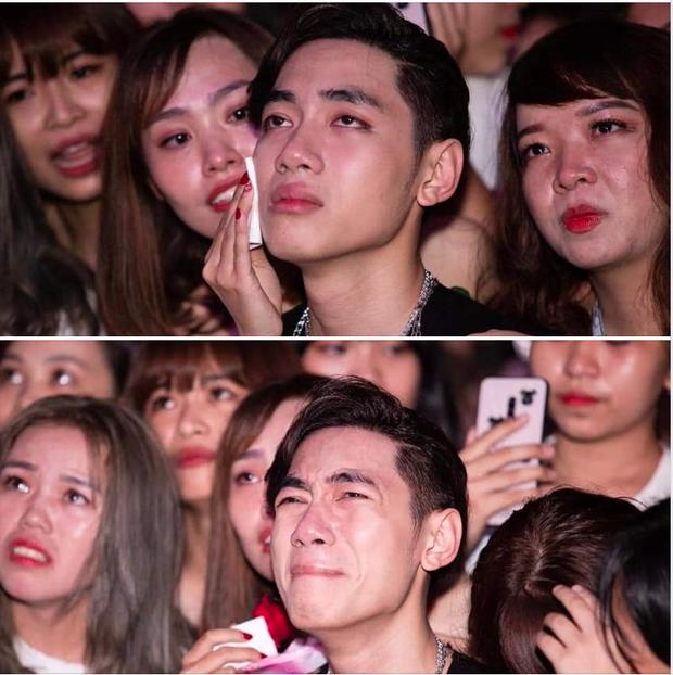 Ngay trong mini concert mừng sinh nhật, K-ICM bật khóc vì áp lực trước hàng loạt bình luận tiêu cực của anti -fan - Ảnh 3.