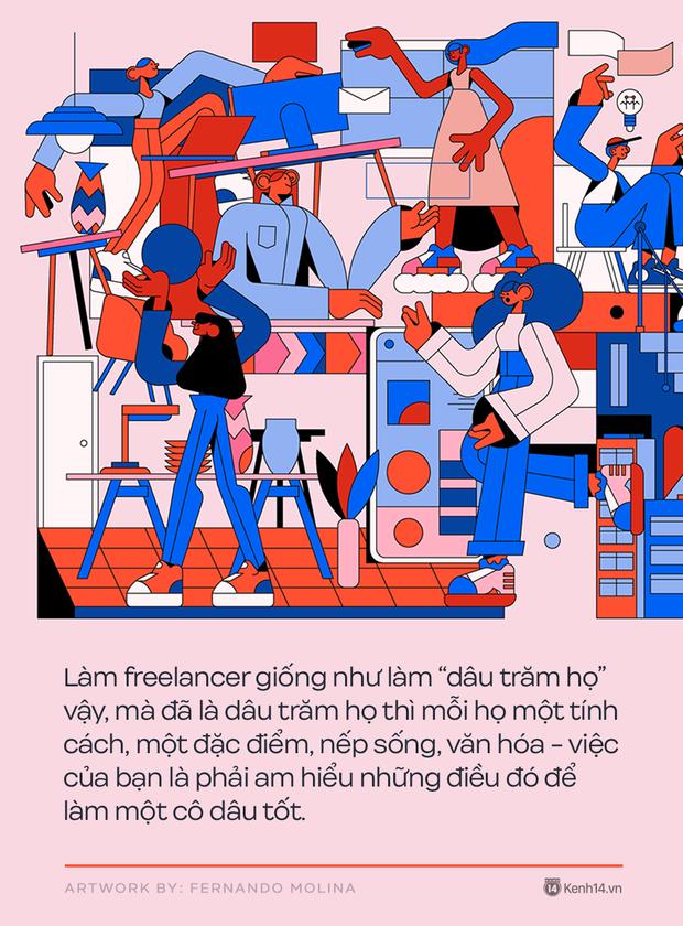 5 bài học vỡ lòng để trở thành một freelancer thành công: Nghiêm khắc, kỷ luật và không được phá giá bản thân - Ảnh 3.