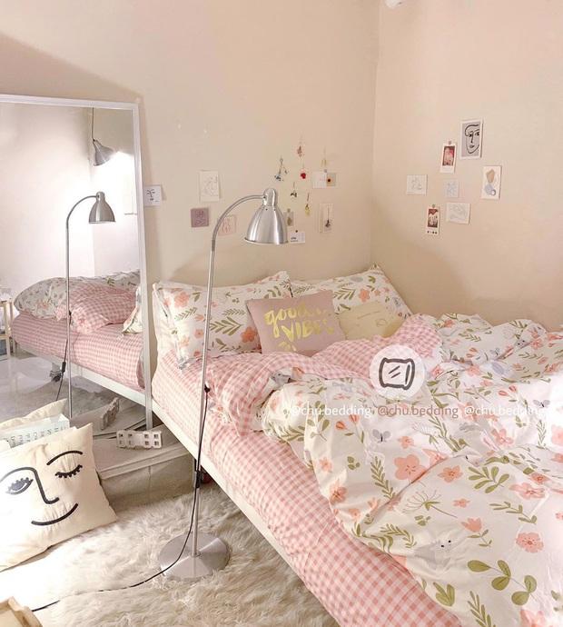 Ăn ngon mặc đẹp rồi, các nàng cũng đừng quên sắm ga gối xinh xẻo để lên đời cho căn phòng của mình - Ảnh 3.