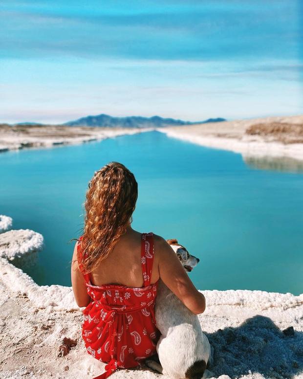 """Địa điểm nơi Vũ Khắc Tiệp """"mượn ảnh"""" để đăng lên Instagram: Hồ muối """"ảo diệu"""" nhất nước Mỹ, khách du lịch check-in nườm nượp - Ảnh 10."""