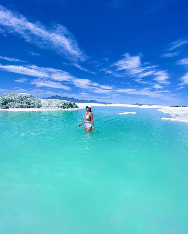 """Địa điểm nơi Vũ Khắc Tiệp """"mượn ảnh"""" để đăng lên Instagram: Hồ muối """"ảo diệu"""" nhất nước Mỹ, khách du lịch check-in nườm nượp - Ảnh 22."""