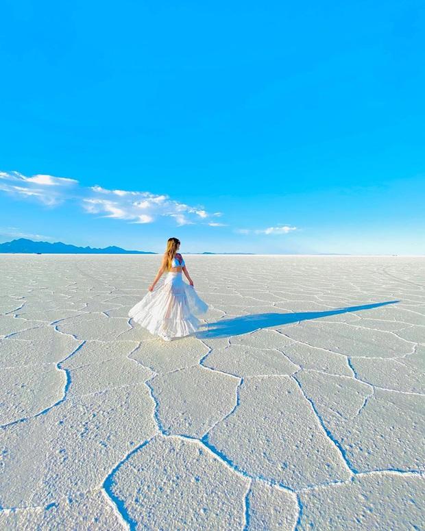"""Địa điểm nơi Vũ Khắc Tiệp """"mượn ảnh"""" để đăng lên Instagram: Hồ muối """"ảo diệu"""" nhất nước Mỹ, khách du lịch check-in nườm nượp - Ảnh 24."""