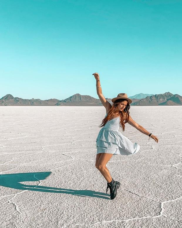 """Địa điểm nơi Vũ Khắc Tiệp """"mượn ảnh"""" để đăng lên Instagram: Hồ muối """"ảo diệu"""" nhất nước Mỹ, khách du lịch check-in nườm nượp - Ảnh 17."""