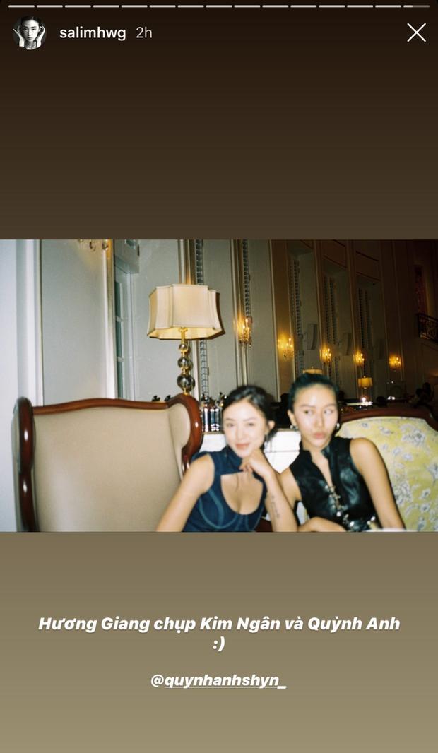 Drama tạm lắng, Quỳnh Anh Shyn - Salim đọ sắc cùng Hoa hậu Hương Giang - Ảnh 4.
