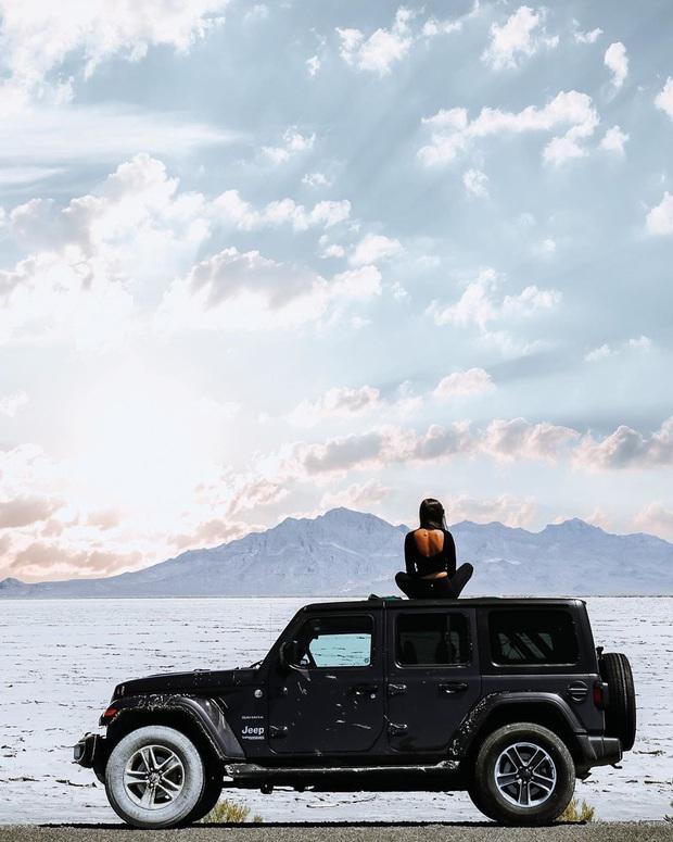 """Địa điểm nơi Vũ Khắc Tiệp """"mượn ảnh"""" để đăng lên Instagram: Hồ muối """"ảo diệu"""" nhất nước Mỹ, khách du lịch check-in nườm nượp - Ảnh 19."""