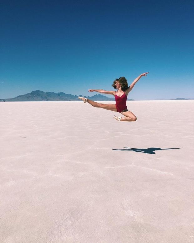 """Địa điểm nơi Vũ Khắc Tiệp """"mượn ảnh"""" để đăng lên Instagram: Hồ muối """"ảo diệu"""" nhất nước Mỹ, khách du lịch check-in nườm nượp - Ảnh 21."""