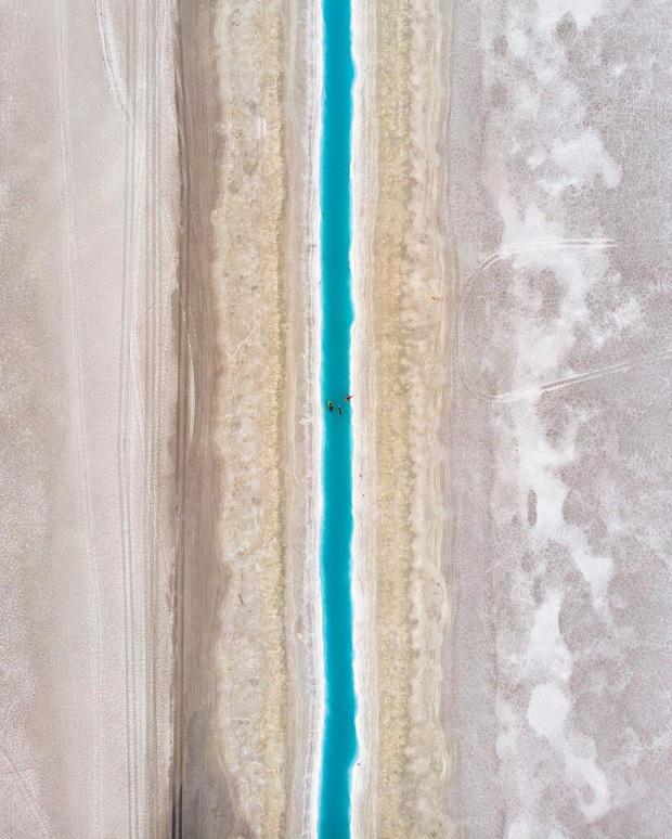 """Địa điểm nơi Vũ Khắc Tiệp """"mượn ảnh"""" để đăng lên Instagram: Hồ muối """"ảo diệu"""" nhất nước Mỹ, khách du lịch check-in nườm nượp - Ảnh 7."""