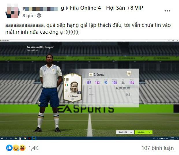 FIFA Online 4: Đã có game thủ lấy hết nhân phẩm cả server, đổi đời chỉ sau một cú click chuột - Ảnh 1.