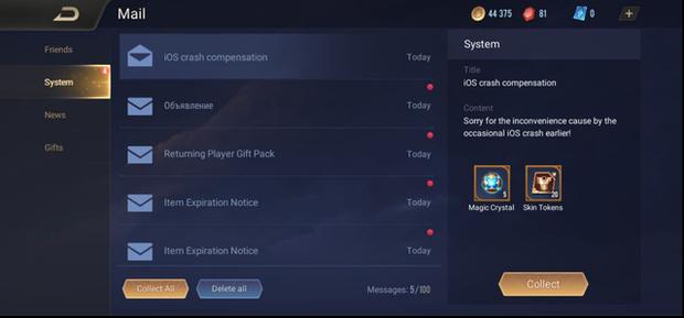 Liên Quân Mobile: Game thủ nhận miễn phí Nakroth ADC nhờ... sự cố kỹ thuật của iOS - Ảnh 1.