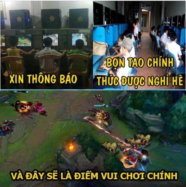 Cảnh báo: Kỳ nghỉ hè chính thức bắt đầu, rank Việt chạy đằng trời cũng không thoát được vấn nạn trẻ trâu - Ảnh 1.