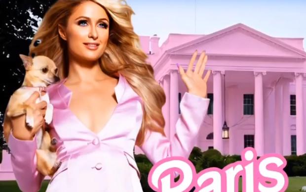 Paris Hilton tuyên bố tranh cử Tổng thống Mỹ, dự định sẽ sơn Nhà Trắng thành Nhà Hồng! - Ảnh 1.