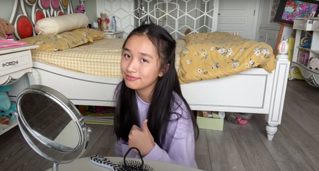Giải mã sức hút từ loạt vlog triệu view quá là sến của cô bạn Việt 15 tuổi học trường quốc tế, có nhà bên Mỹ - Ảnh 3.