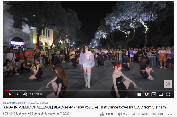 Dưới bản dance cover hit BLACKPINK của nhóm nhảy Việt gần 2 triệu view, fan quốc tế ngơ ngác: Người Việt Nam không giãn cách xã hội à? - Ảnh 2.