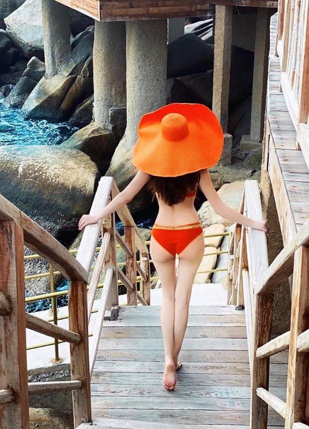 Hôm qua yoga, hôm nay bà bầu Hà Hồ lại đi leo núi cùng bạn trai Kim Lý: Thoăn thoắt thế này ai nghĩ là mẹ bầu thai đôi? - Ảnh 5.
