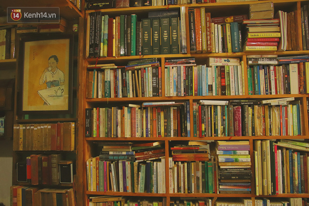Gặp ông chủ quán uống cà phê trả tiền bằng sách độc nhất Sài Gòn: Mang 1 quyển sách tặng quán, nhận một phần nước bất kỳ - Ảnh 13.